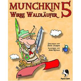 Munchkin 5 - Wirre Waldläufer, die Erweiterung