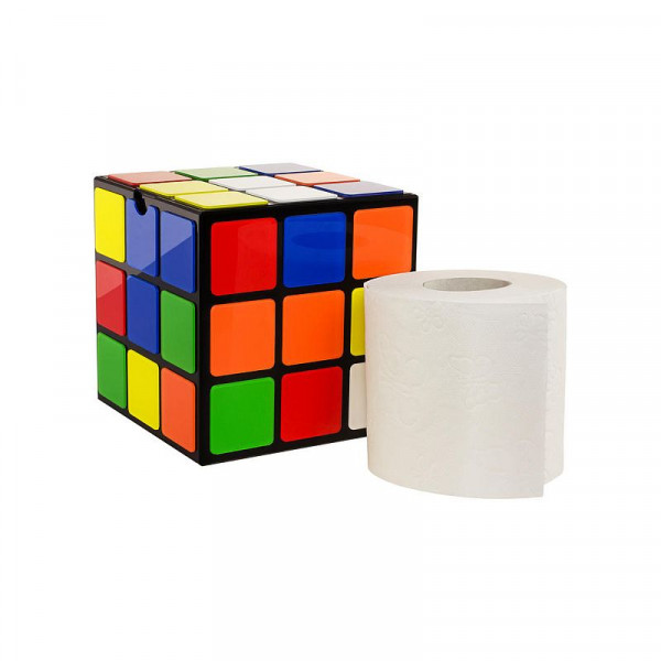 Toilettenpapierhalter Rubikscube Zauberwürfel