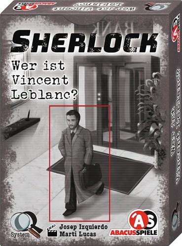 Sherlock - Wer ist Vincent Leblanc - Krimi-Spiel