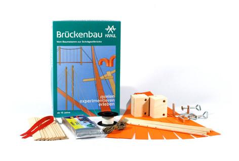 Brückenbau - Experimentierkasten