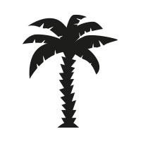 Ministempel Palme