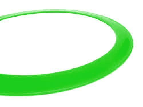 Ring gross - 40cm - grün