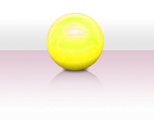 Stageball 72mm gelb