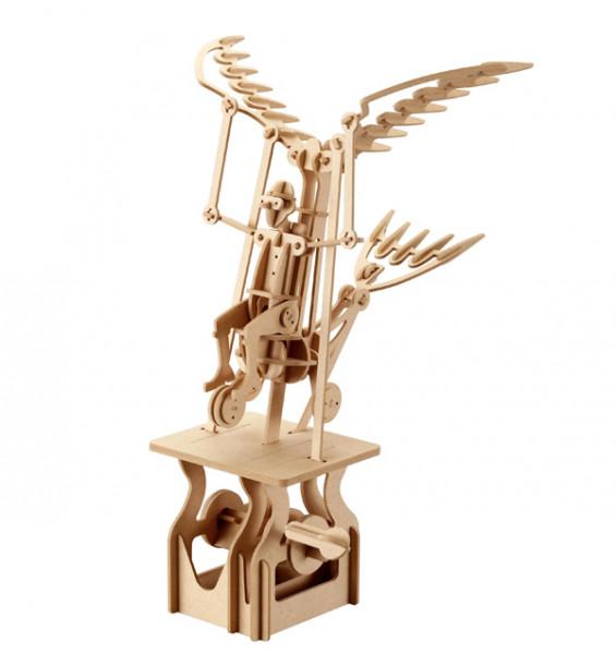 Holzbausatz bewegliches Modell - Flying Dreamer