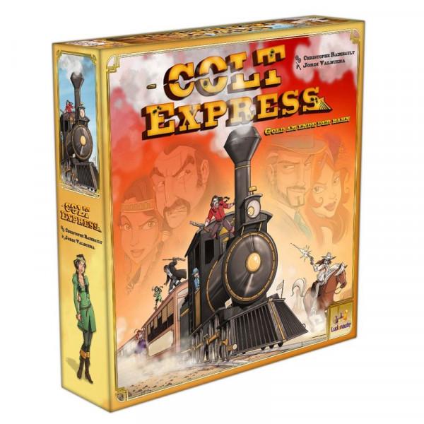 Colt Express Erweiterung 1 - Postkutsche und Pferde