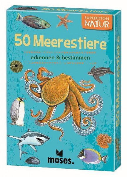 50 Meerestiere