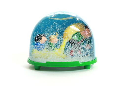 Schneekugel classic 3D - Max und Moritz