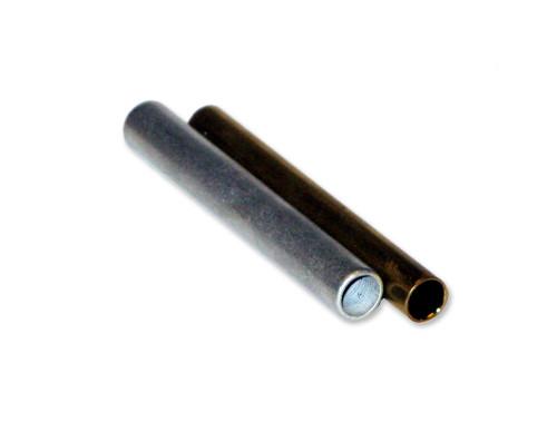 Stab-Verbinder - Alu Muffe 8mm - mit Anschlag