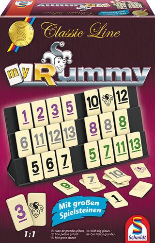My Rummy Classic- mit grossen Spielsteinen