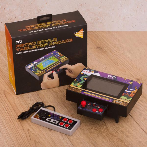 Retro Tabletop Arcade Machine - inkl. 300x 8-Bit Spielen