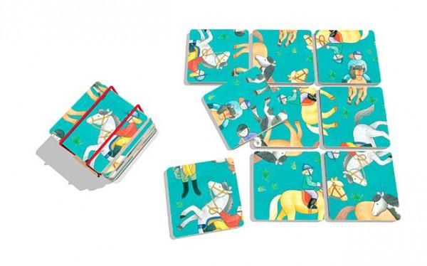 Pocketpuzzle Pferde - 9 Teile
