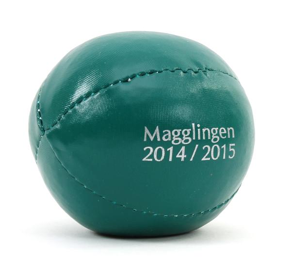 Ein Jonglierball als Werbegeschenk