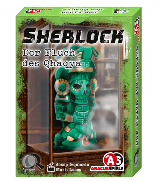 Sherlock - Der Fluch des Qhaqya - Krimi-Spiel