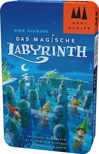 Das magische Labyrinth - Spiel in Metalldose
