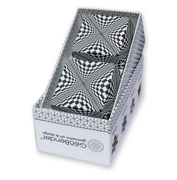GeoBender Cube - Abstract 2-er Box