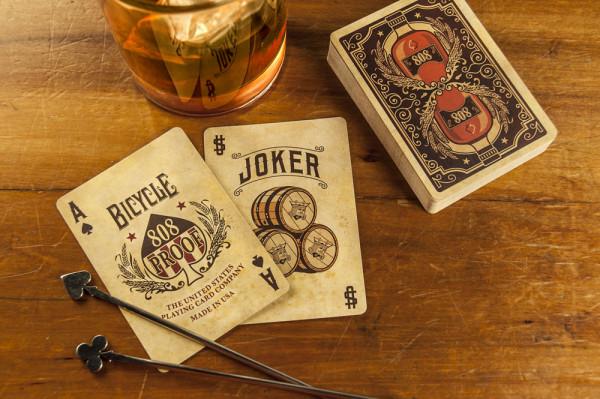 Bicycle Karten - Deck Bourbon