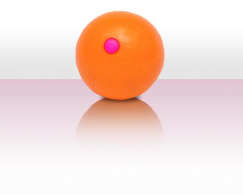Bubbleball der Jonglierball aus Kunststoff - orange