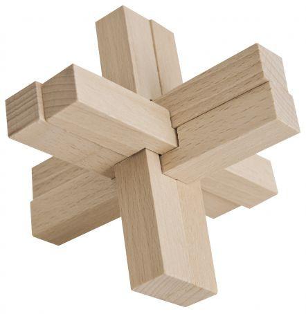 Teufelsknoten, Holz-Puzzle