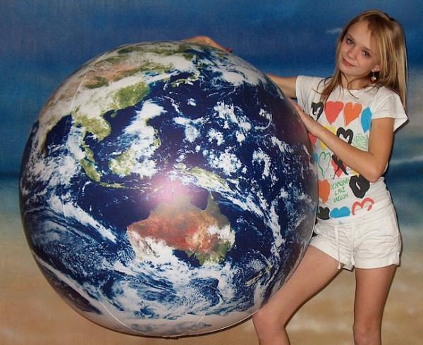 Globus aufblasbar - 120cm - Astronauts View
