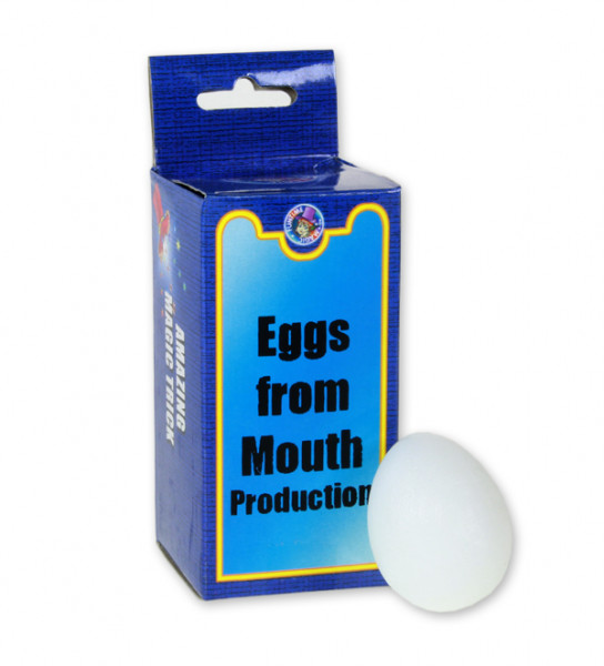 Eiertrick - Unzählige Eier aus dem Mund zaubern
