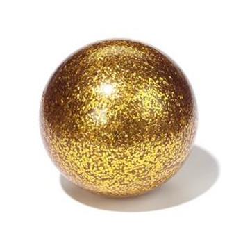 Stageball 80mm Glitter gold