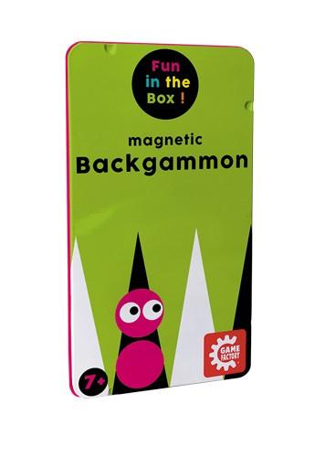 Magnetisches Reisespiel - Backgammon