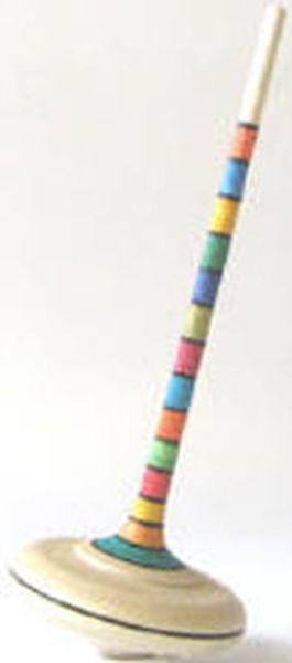 Kreisel Ara gestreift 47mm