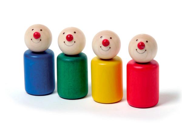 Spielfiguren Pico - Set mit 4 Stk