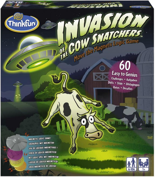 Invasion of Cow Snatcher - Logikspiel