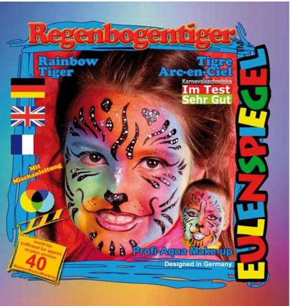 Eulenspiegel Profi-Schminkfarben - Sujet Regenbogentiger
