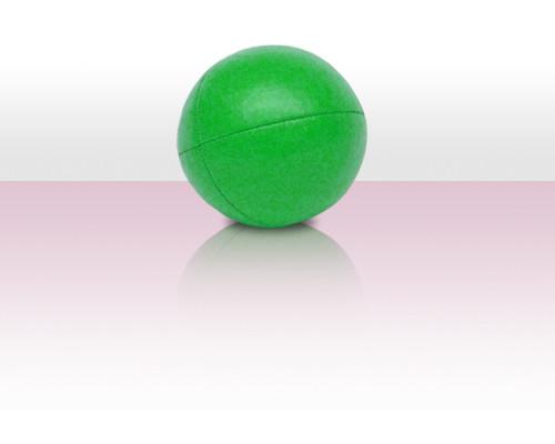 Jonglierball Beanbag Kunstleder - grün uni