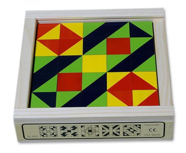 Mosaikwürfel Spiel - das Klötzlimosaik 25-teilig