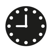 Ministempel Uhr