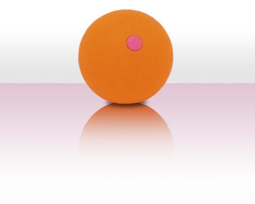 Bubbleball der Jonglierball aus Kunststoff - orange peach