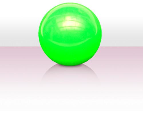 J9 Body Rolling Ball 125 mm - Fluo-Grün