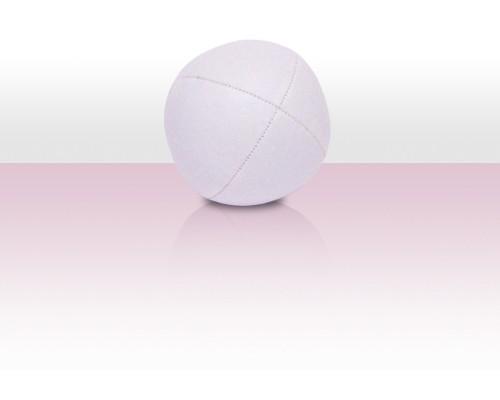 Jonglierball Beanbag Kunstleder - weiss uni