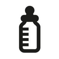 Ministempel Babyflasche Schoppen