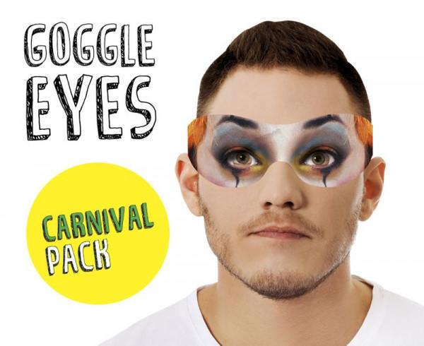 Goggle Eyes Augenmaske - Carnival Pack