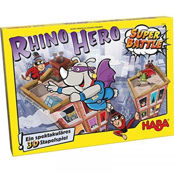 Rhino Hero - Super Battle - Familienspiel