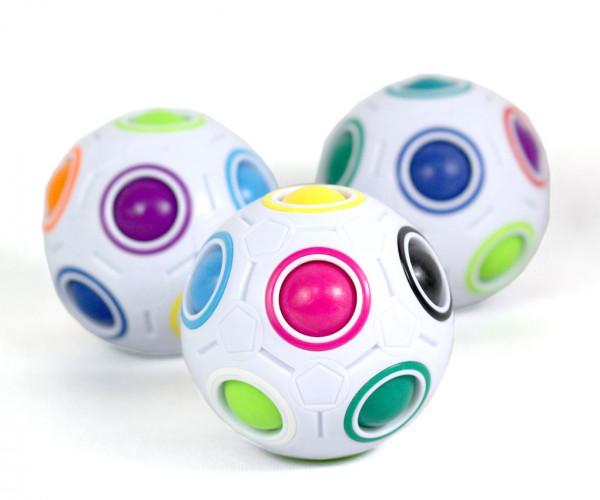 Magic Ball - der Knobel-Ball mit farbigen Kugeln im Innern