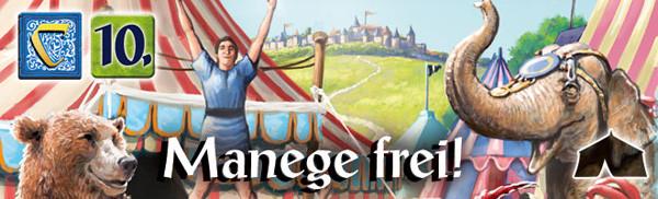 Carcassonne 10.Erweiterung - Manege Frei!