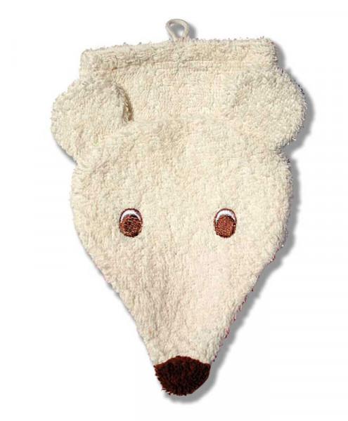 Waschlappen Tiermotiv - Eisbär