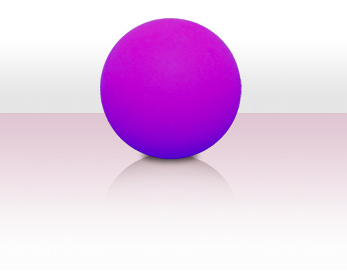 Stageball 80mm violett - Peach