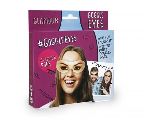 Goggle Eyes Augenmaske - Glamour Pack