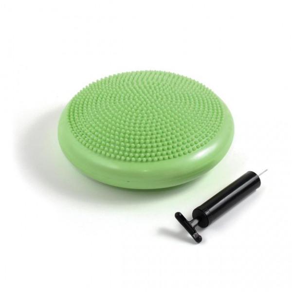Balance-Kissen mit Massagenoppen und Handpumpe