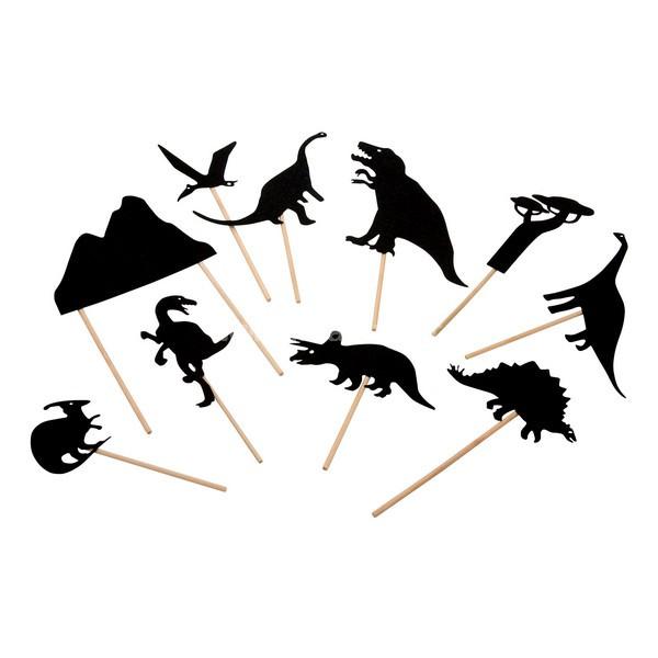 Ombres du soir Moulin Roty - Schattenspiel Dinosaurier