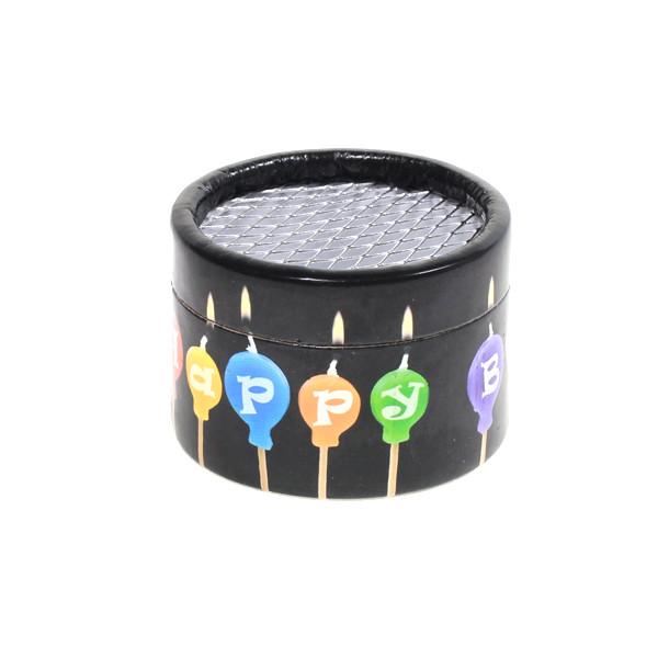 Papierdosen für Musikdosen - Sujet: Happy Birthday