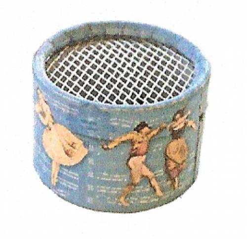 Papierdosen für Musikdosen - Sujet: Tänzer