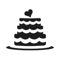 Ministempel Torte