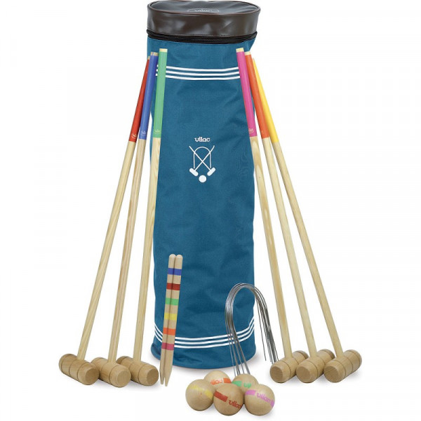 Croquet Spiel gross für 6 Spieler